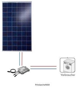 SolARenner Komplettangebot Hausnetzeinspeisung 350W