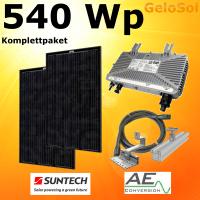 GeloSol Eigenstromanlage 540 Wp Schwarze Module