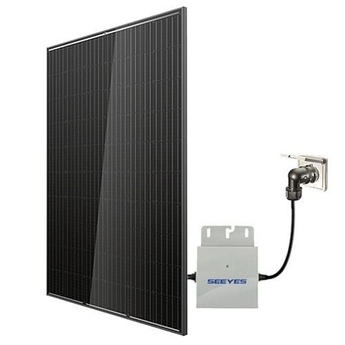 selfPV Komplettpaket 300Wp - Trina FULL BLACK